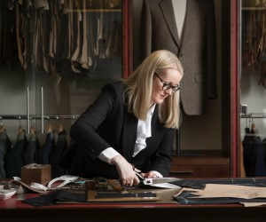 Kathryn Sargent, the first female Master Tailor to open on Savile Row, April 2016